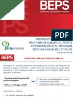 Instrucción Operativa Autorización PSAP a BEPS - AV Vf 12-04-2018
