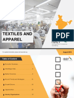 Textiles and Apparel August 2019