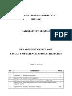 Lab Manual SBU