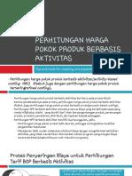 Akbi 1-Perte 9 Perhitungan Harga Pokok Produk Berbasis Aktivitas
