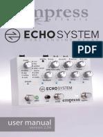 Echosystem Manual