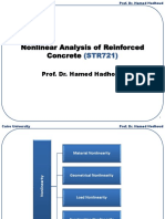 Nonlinear Analysis of RC