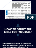 Inductive Bible Study—Using 5W's and an H