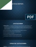 Presentación Licitaciones.odp