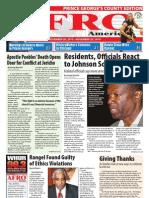 Prince George's County Afro-American Newspaper, November 20, 2010