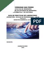 Guia de Laboratorio - Tecnicas Programación I