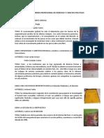 Libros de La Carrera Profesional de Derecho y Ciencias Politicas