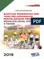 10904 D5.3 KU 2019 Bantuan SMK Yang Melaksanakan Penyelarasan Program Keahlian (Dual System) 4 Tahun