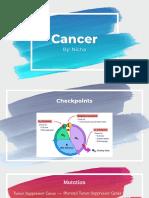 nicha-cancer presentation