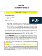 Remedial - Evidence Case Digests