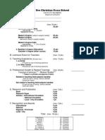 Faculty Ranking Score Sheet