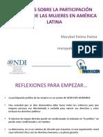 Participacion Mujeres