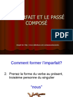 imparfait and passe compose