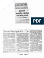 Manila Bulletin, Oct. 15, 2019, Six-month suspension, reduction of SLEX toll pushed.pdf