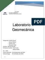 Laboratorio Geomecanica