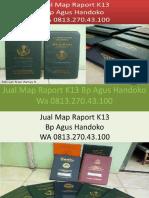 WA 0813.270.43.100, Jual Cover Raport SD di Nias  Barat Sumatra Utara