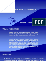 l1.Introduction to Research