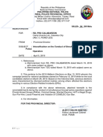 Intensification on the Conduct of Simultaneous Focused Police Operations (Part 1)