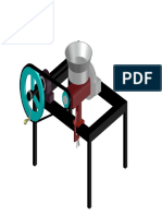 MOLINO 3D AUTOCAD