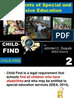 Child Find, Assessment