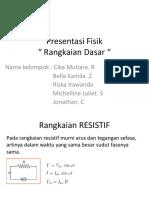 Presentasi Fisika Xii