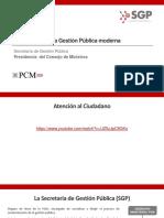Promoviendo Gestion PublicaModerna