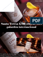 Alberto Vollmer - Santa Teresa 1796 Obtiene Otro Galardón Internacional