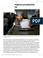 Folly of the Afghan presidential election 2019 | The Express Tribune