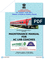 Maintenance Manual for AC LHB Coaches