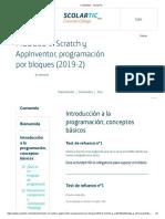Test 01 Contenidos - ScolarTIC