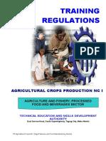 TR - Agricultural Crops NC I