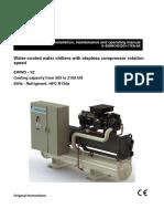EWWD-VZ D-EIMWC003D01-17 Installation and Operation Manuals Arabic