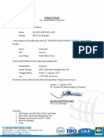 Surat Backup Irwansyah