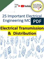 25 Mcq Transmission and distribution