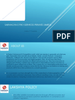 Sarvagya e Pro Services Private Limited