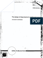 The Design of Deep Beams in Reinforced Concrete