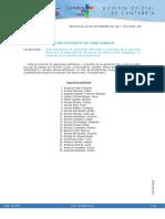 Bases de convocatoria Cantabria boc