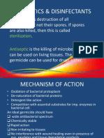 Antiseptics & Disinfectants
