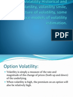 Options Volatility Historical and implied volatility, volatility.pptx