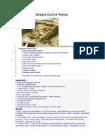 Mushroom Asparagus Quiche Recipe