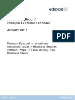 Examinerreports Unit1(6BSA1) January2014