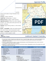 An Overview of Uganda Lubricant Market