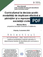 Curriculumul la decizia școlii