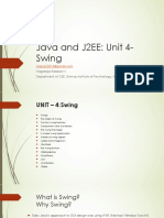 Java and J2EE Swing
