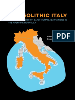 "E. E Spinapolice, 2018 « Neanderthal mobility pattern and technological organization in the Salento (Apulia, Italy), in ""Palaeolithic Italy. Advanced studies on early human adaptation in the Apennine peninsula"" eds Borgia V., Cristiani E., Sidestone Press, Leiden, pp. 95-124."