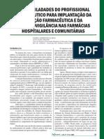 As Dificuladades Do Profissional Farmaceutico 2004