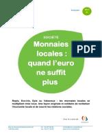 2013 03 Monnaies Locales