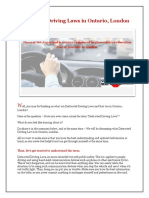 Distracted Driving Laws in Ontario