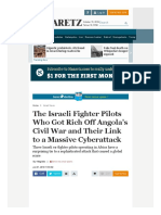 Www Haaretz Com Israel News Premium - The Israeli Businessmen Who Got Rich Off Angola s War and Their Ties to Cyberattack 1 6792027
