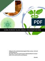 Initial Thesis Report( Global Ayurvedic Village)